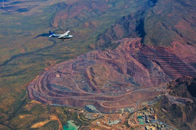 Aviair Argyle Diamond Mine